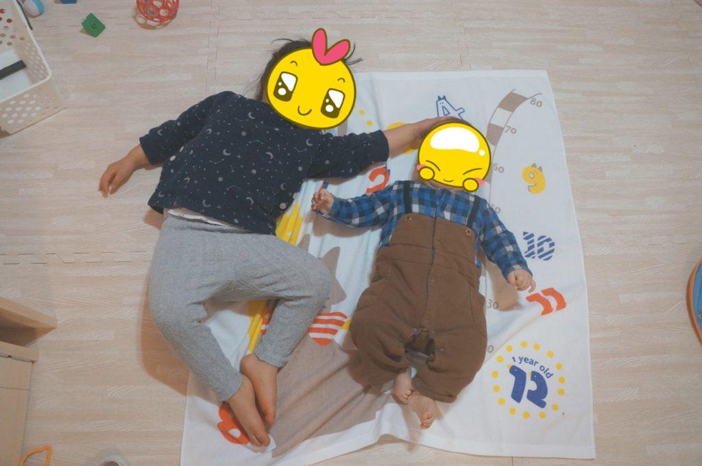 2歳差姉弟